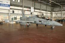 mb339cd in hangar gea