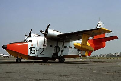 Grumman UH16A Albatross search and rescue aeronautica militare