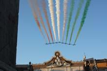 Frecce Tricolori 313 Gruppo a Roma