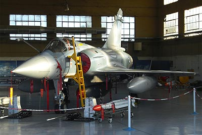 Hellenic Air Force Mirage 2000-5 with SCALP-EG
