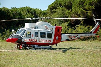 ab412hp guardia costiera 1^ sezione elicotteri luni sarzana