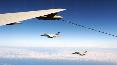 kc767a aar mission italian air force