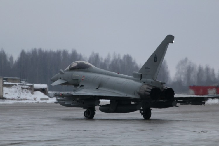 typhoon italiani nato baltic air policing