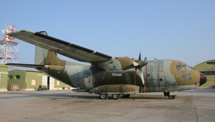 Gli ultimi G-222 dell'Aeronautica Militare