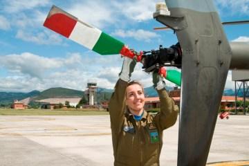 prima istruttrice di volo donna 72° Stormo frosinone