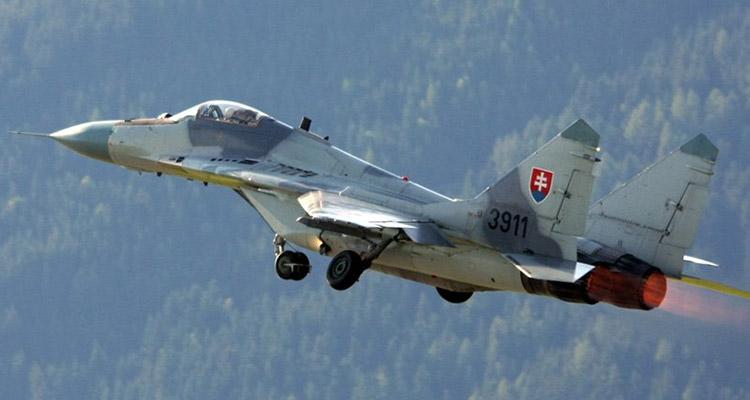 zeltweg air power 2011 - Mig-29 Polonia