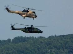 Puma e NH-90 Caiman