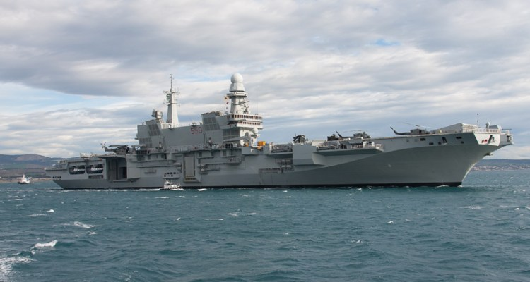 gruppo navale cavour portaerei marina militare