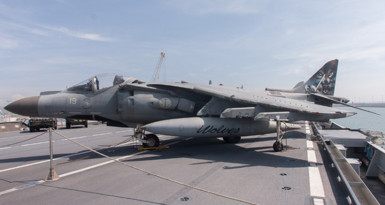 harrier marina militare 30° gruppo navale