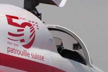 patrouille suisse al riat 2014