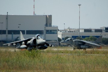 AV-8B Harrier II gruppo aerei imbarcati marina militare