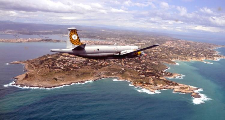 pattugliamento in volo con gli atlantic del 41 stormo mare nostrum