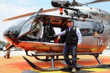 EC-145 polizia nazionale del perù