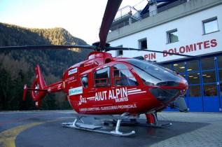 elicotteri del soccorso aereo delle dolomiti