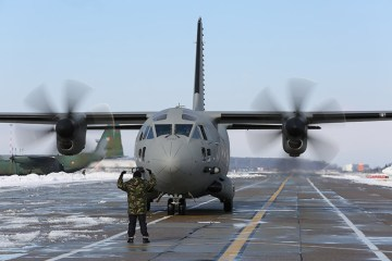 c-27j spartan romanian air force