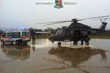 trasporti sanitari complessi aeronautica militare