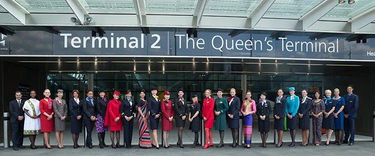 Air Transport World Terminal 2 di Heathrow
