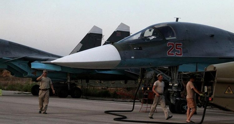 russian air force bombardamenti in siria
