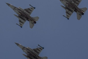 israel air force flypast 67° anniversario indipendenza