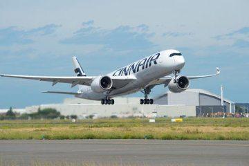 A350 XWB FINNAIR primo volo