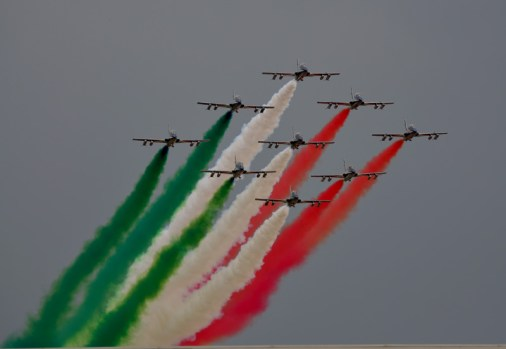 Sorvolo Frecce Tricolori Sigonella