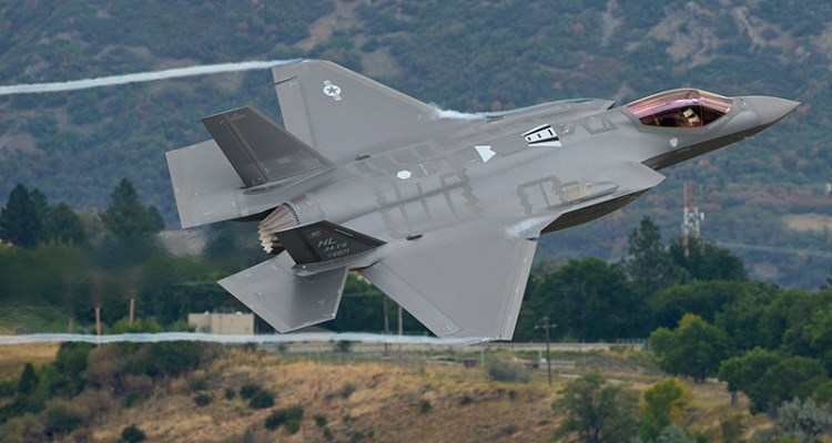 first flight F-35A usaf from hill afb