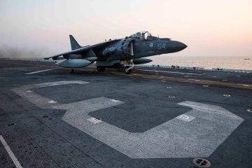 USMC AV-8B Harriers