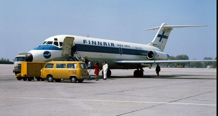 DC9 ultimo volo finnair velivolo commerciale più vecchio al mondo