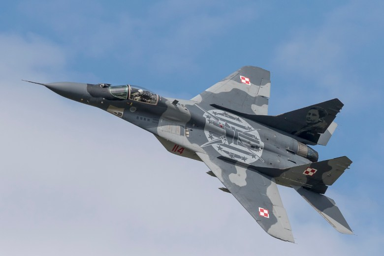Mig-29 Polish Air Force display