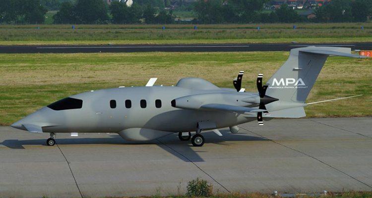 piaggio aerospace p180 avanti multirole patrol aircraft