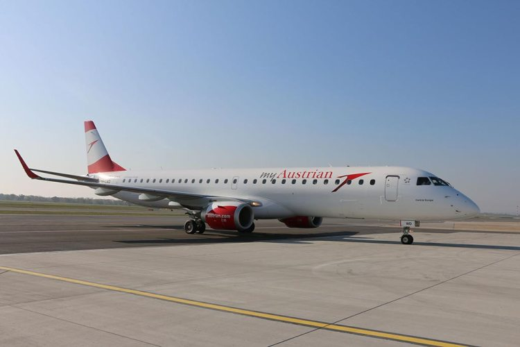 Embrarer 195 Austrian Airlines