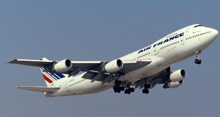 ultimo volo Air France B747 Jumbo