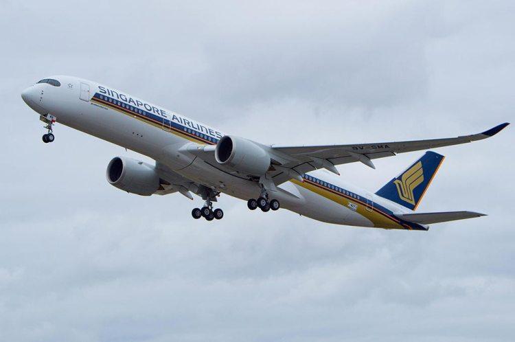 Primo volo dell'A350 900 di Singapore_Airlines