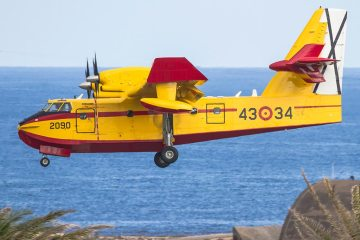 Canadair CL-415 Ejercito del Aire