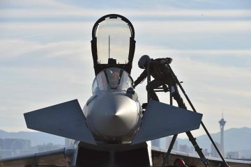 Eurofighter Typhoon aeronautica militare alla Red Flag 2016
