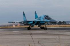 Sukhoi SU-34 Fullback Russian Air Force