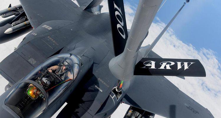 usaf F-15E Inherent Resolve