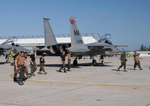 US Air Nation Guard F-15C Eagle