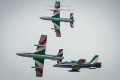 foto della pattuglia acrobatica nazionale