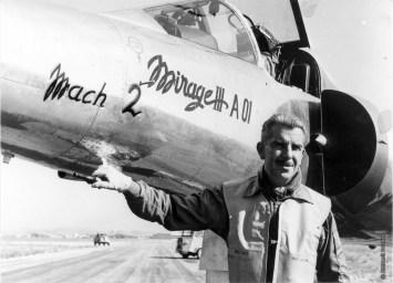 Glavany Roland Mirage III raggiungimento Mach 2