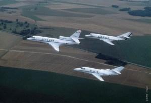 Falcon 10, Falcon 20, Falcon 50