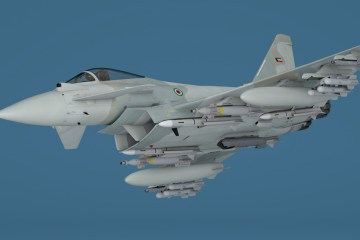 rendering eurofighter typhoon per il Kuwait