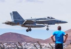 foto degli f-18 hornet spagnoli