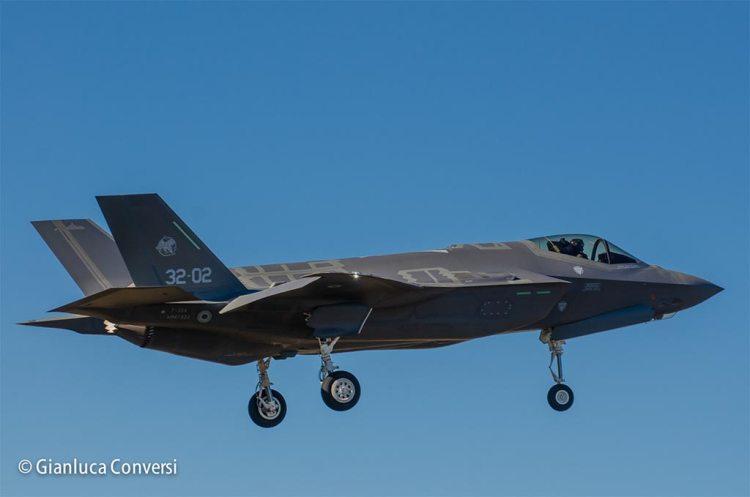 prototipo AL-2 F-35 italiani