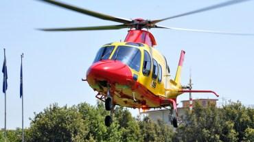 elicottero hems 118 napoli