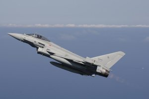 scramble eurofighter typhoon 37° Stormo