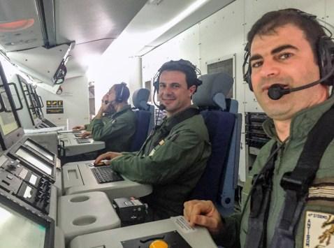 sensor operators P-72 Aeronautica Militare
