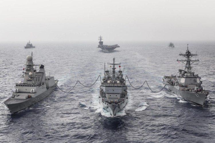 rifornitrice di squadra etna marina militare