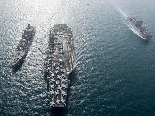 cvn-75 uss harry truman strike group