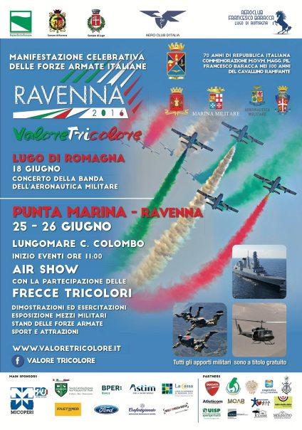 manifestazione aerea 2016 Ravenna